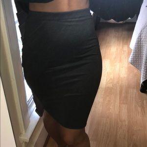 Zara mini pencil skirt